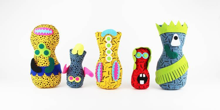 New Designers diaplay non-gendered toys