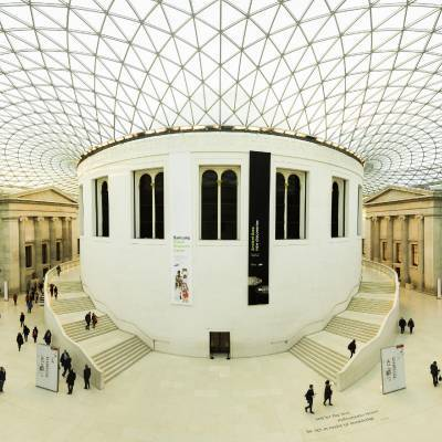 Internal view of The British Museum